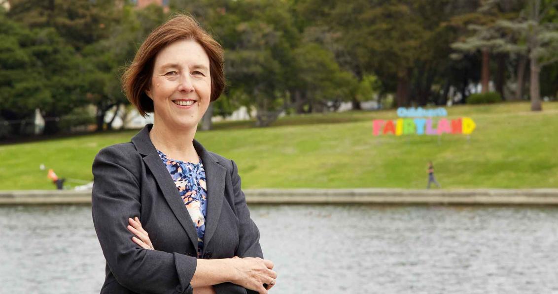 State Sen. Nancy Skinner.
