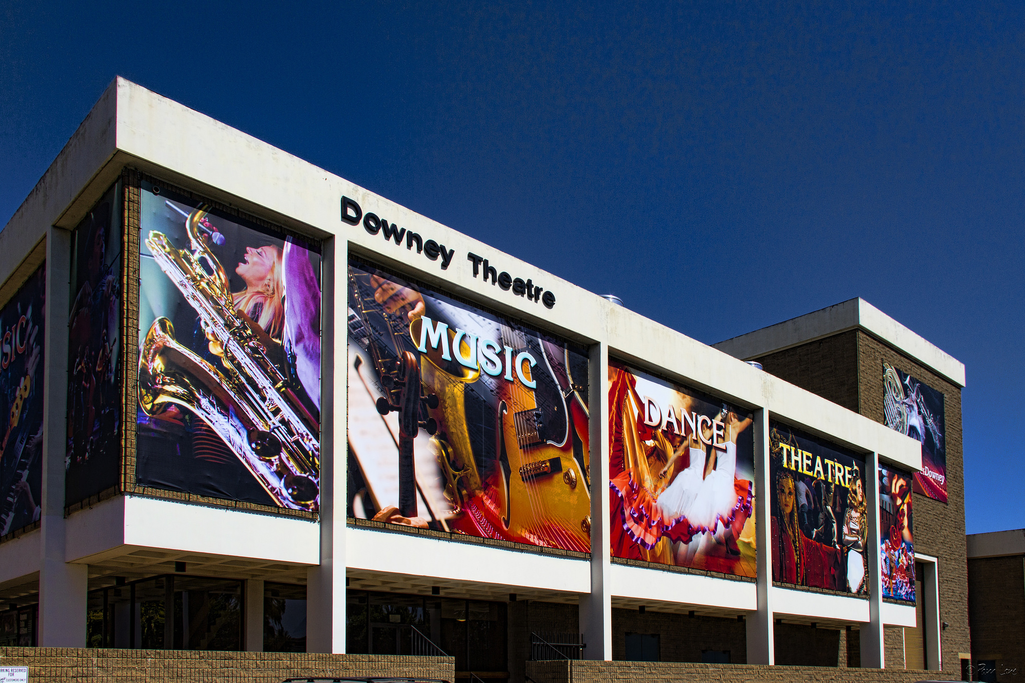 The Downey Civic Theatre. Photo by Pam Lane, DowneyDailyPhotos.com