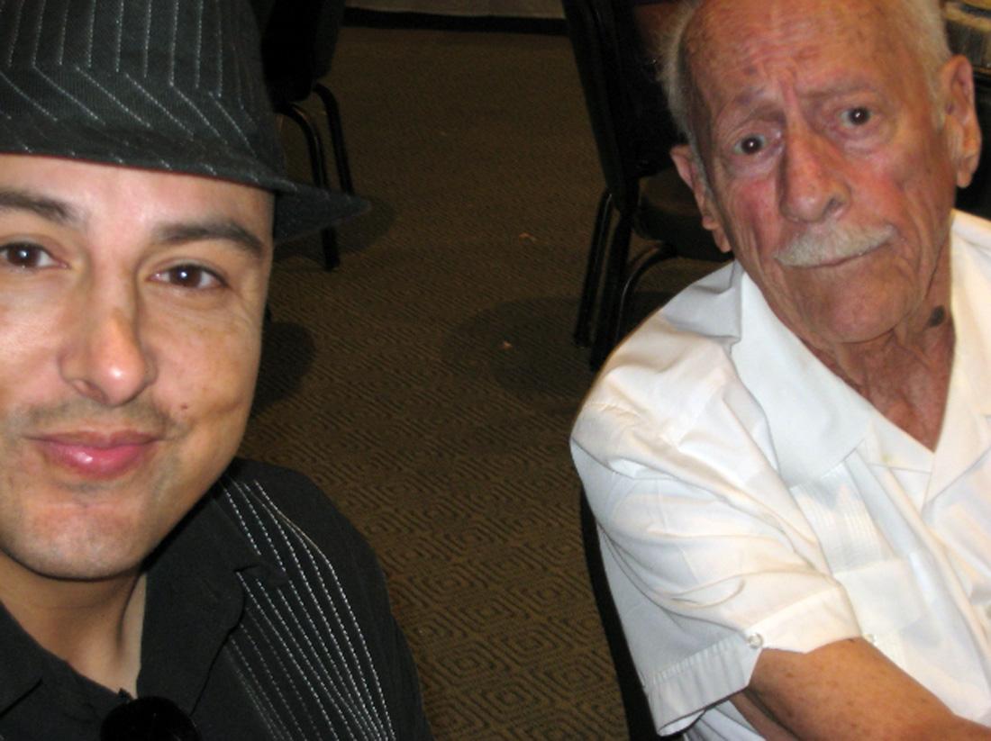 David Devis and Harold Tseklenis. Photo by Lorine Parks