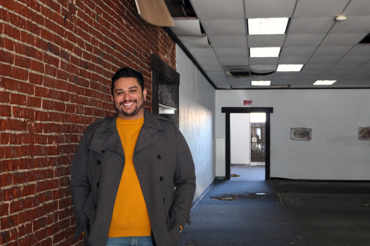 Barney Santos is opening BLVD MRKT in Montebello, a food hall and business incubator. Photo by Alex Dominguez