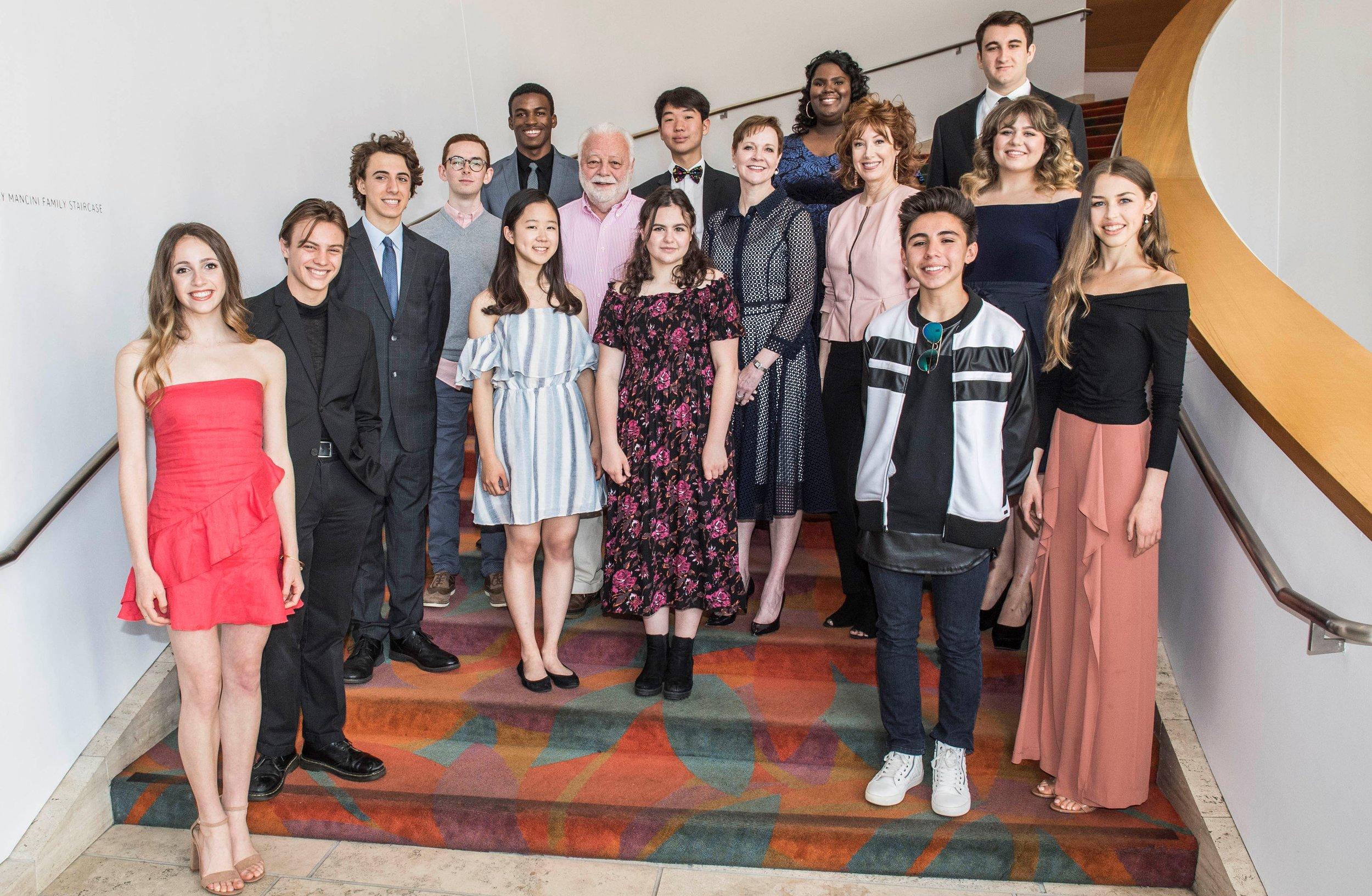Spotlight's 2018 grand prize finalists. Photo courtesy The Music Center.