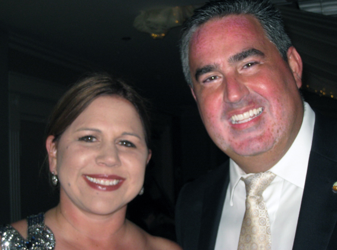 Downey school board member Giggy Perez-Saab and her husband, YMCA honoree Councilman Alex Saab. Photo by Lorine Parks