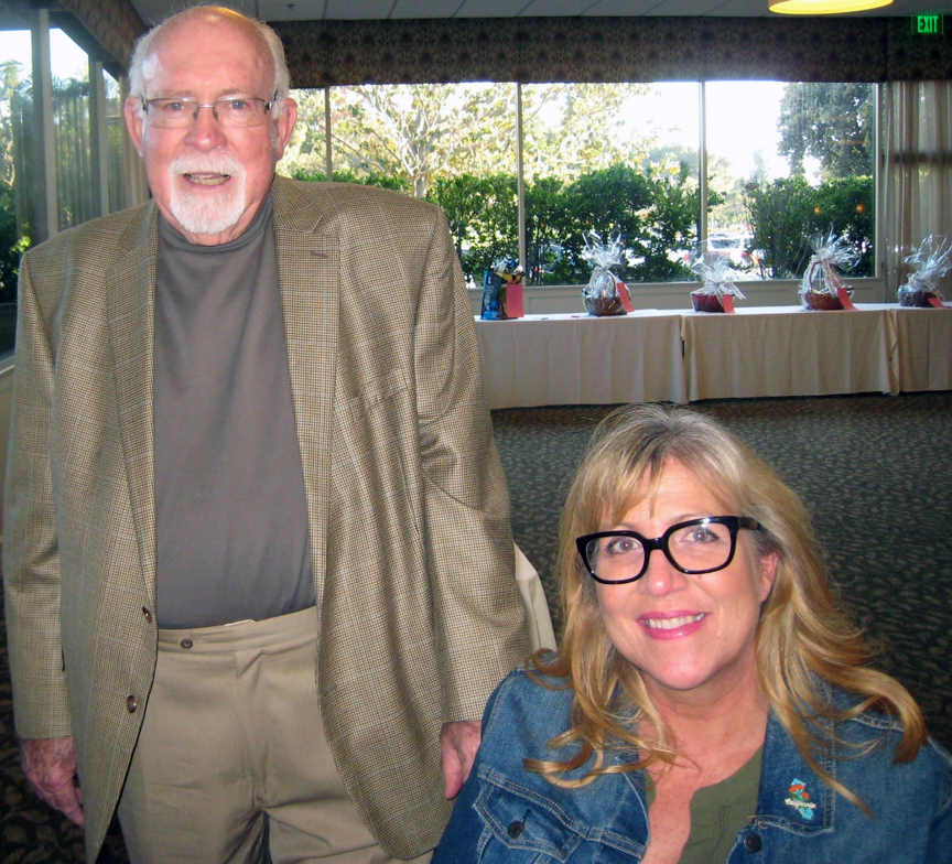 Bill Hare and Janet Hare Molinaro. Photo by Lorine Parks