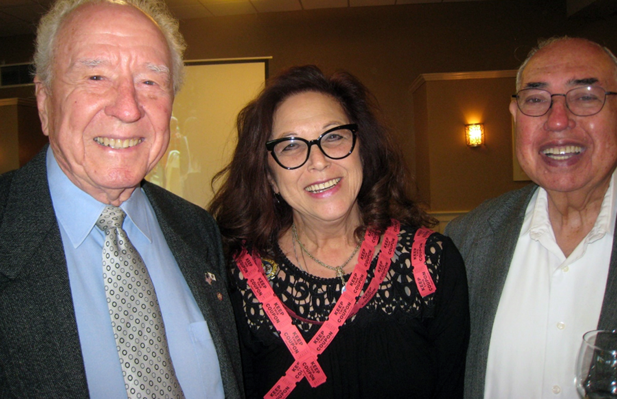 Hop Morrison, Barbara Beard and Larry Lewis. Photo by Lorine Parks