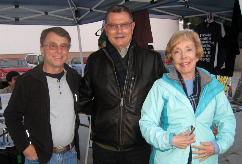 Frank Kearns, Clifton Snider and Carol Kearns. Photo by Lorine Parks