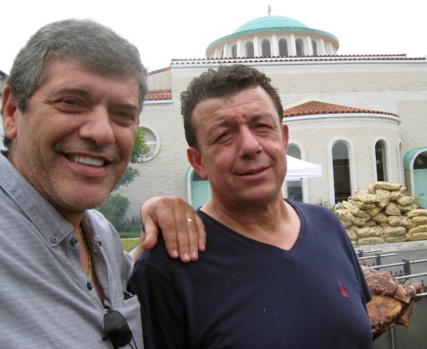 George and Thanasi Bakis.