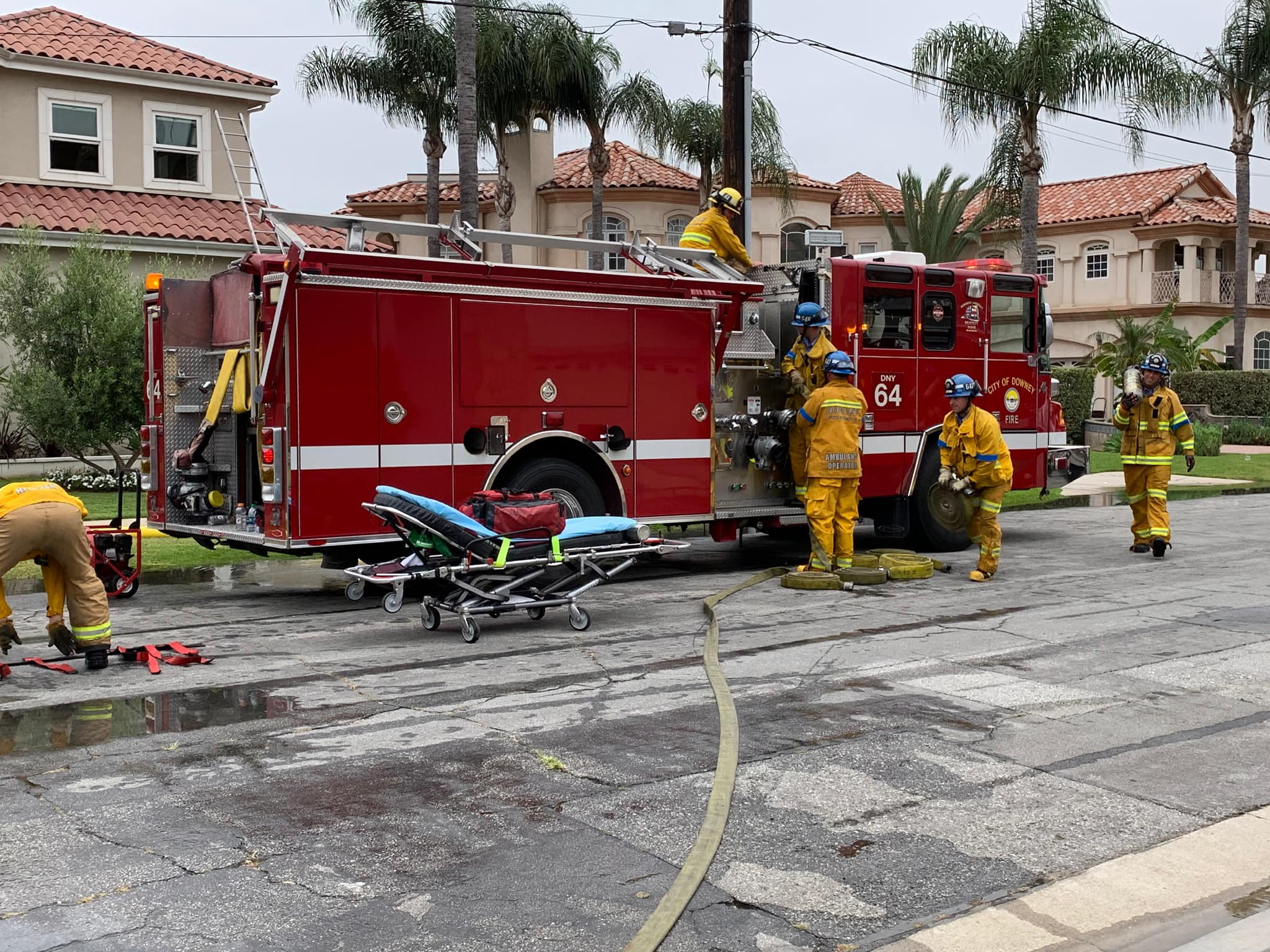 Photo courtesy Downey Fire Department