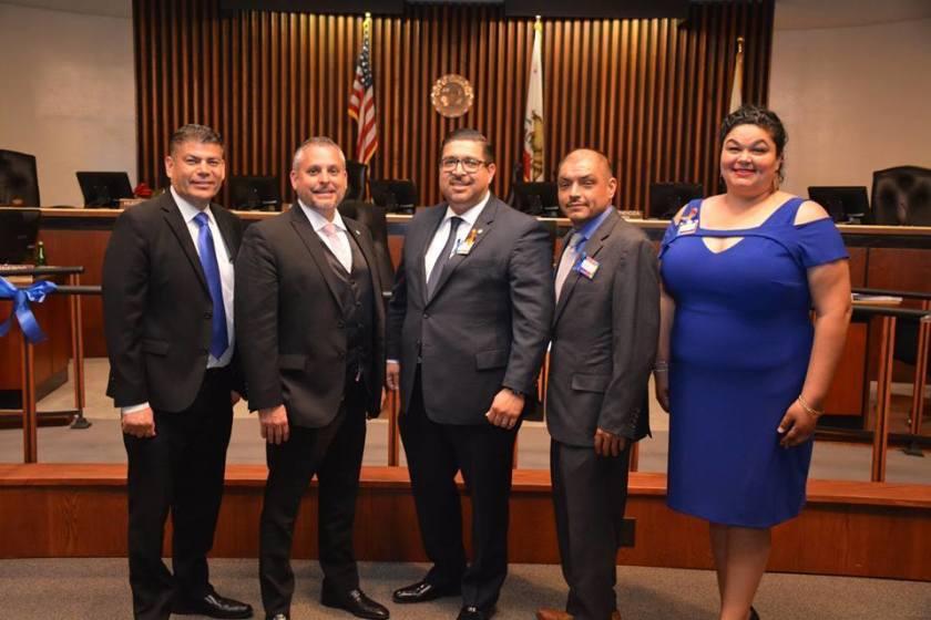 The Commerce City Council.