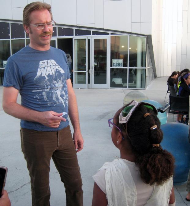 Ben Dickow, director of the Columbia Memorial Space Center.