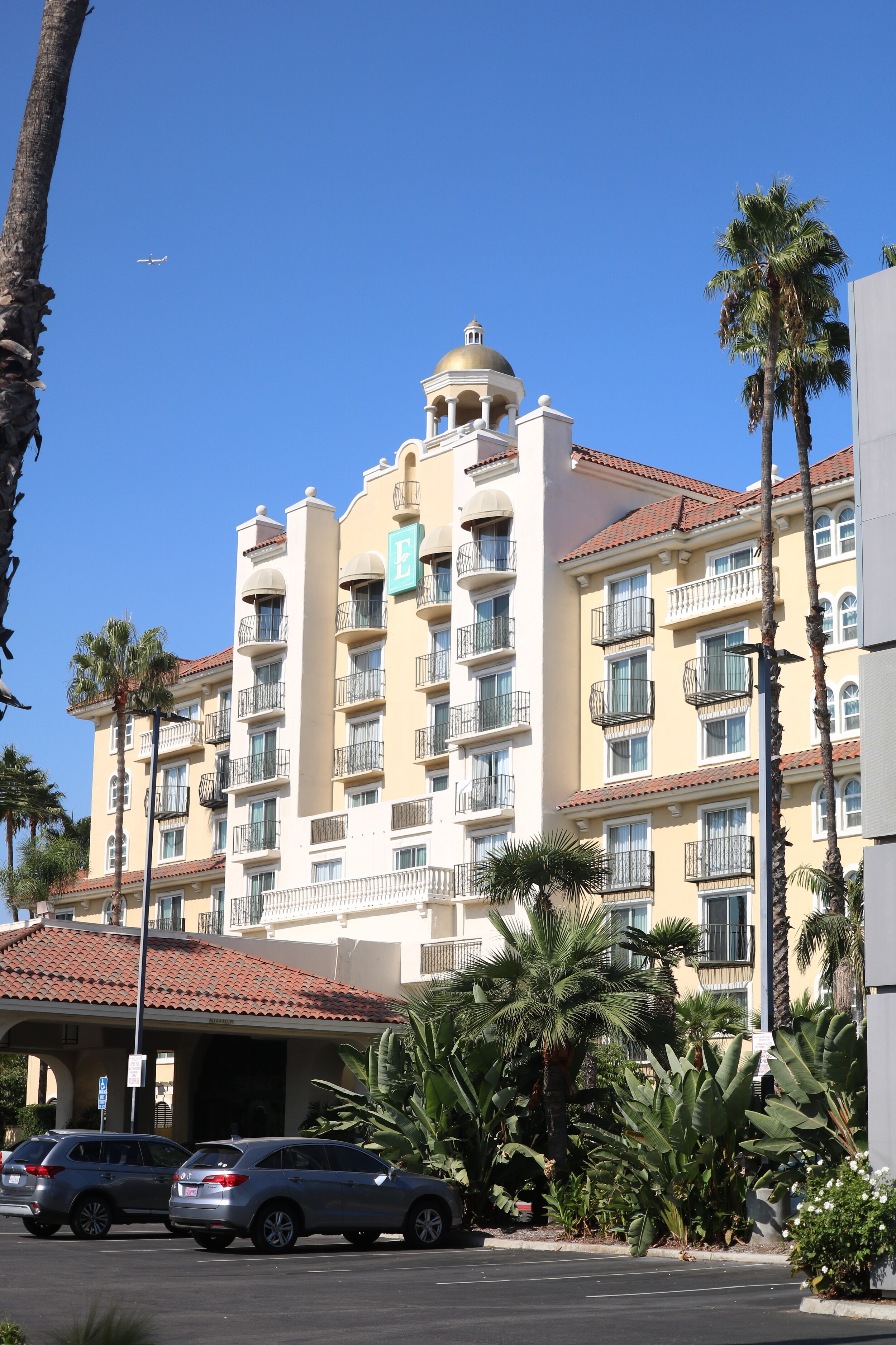 The Embassy Suites is currently Downey's only major hotel. Photo by Alex Dominguez