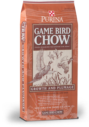 We stock both Game Bird Starter and Flight Conditioner for the Quail, Guinea Hens, and other non-chickens.