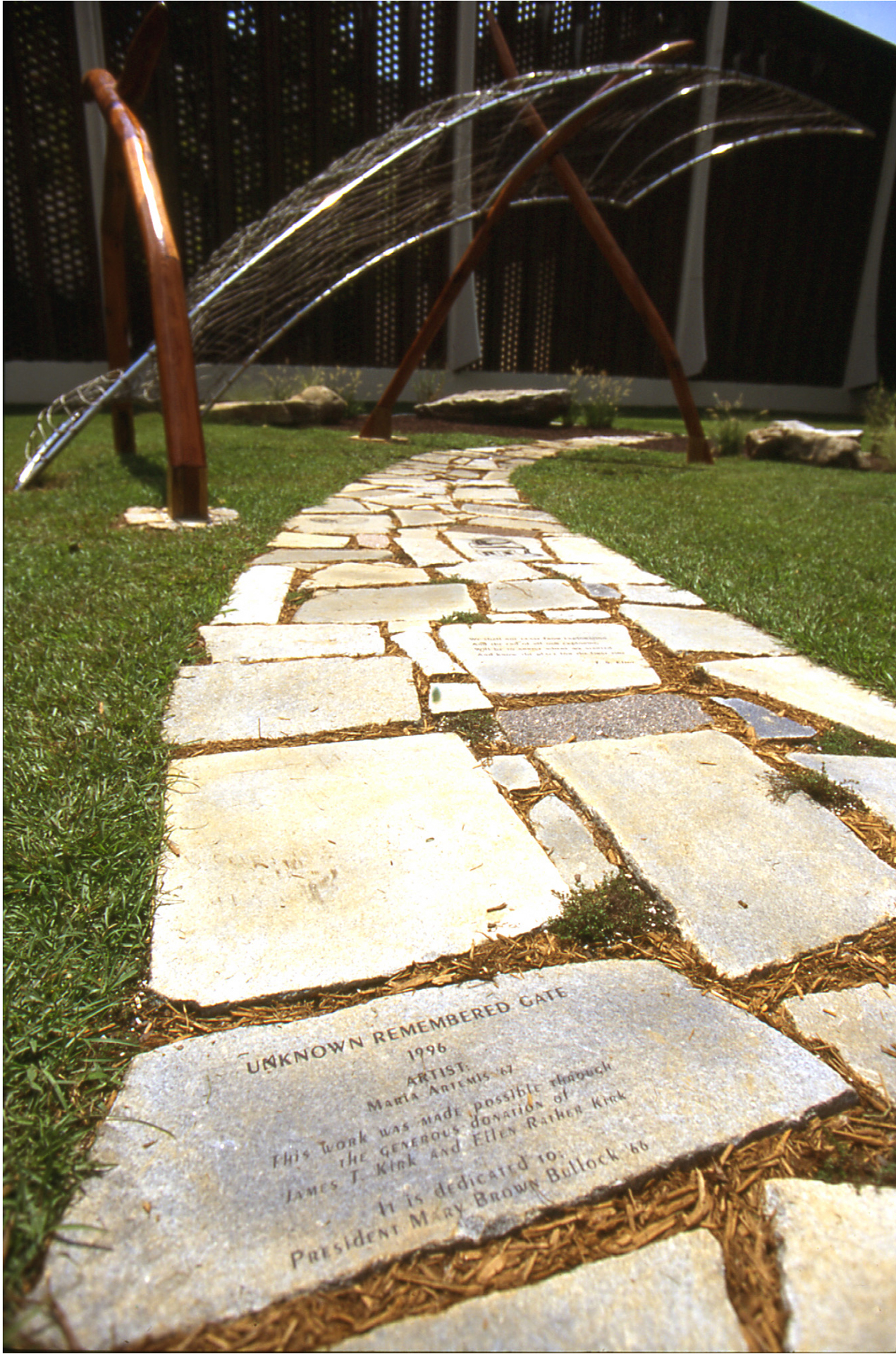Walkway Stone Detail