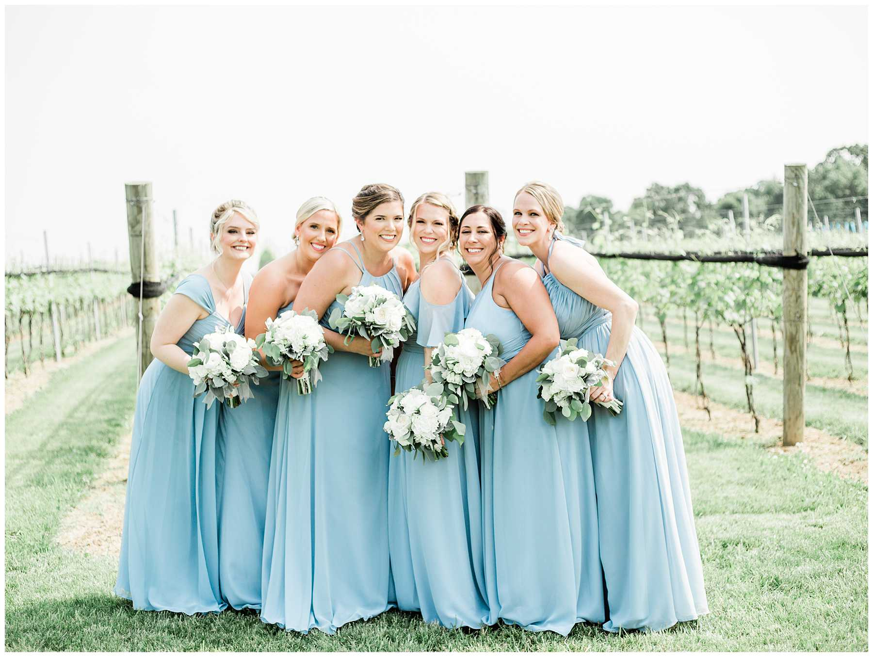 Classy and beautiful Folino Estate Spring Winery Wedding