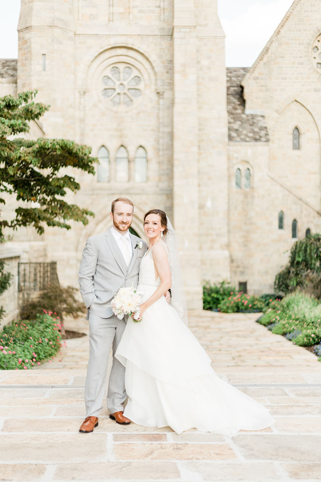 Beautiful Brynn Athens Cathedral Wedding