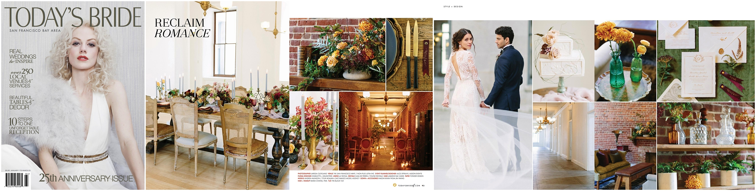 TODAYS BRIDE MAGAZINE