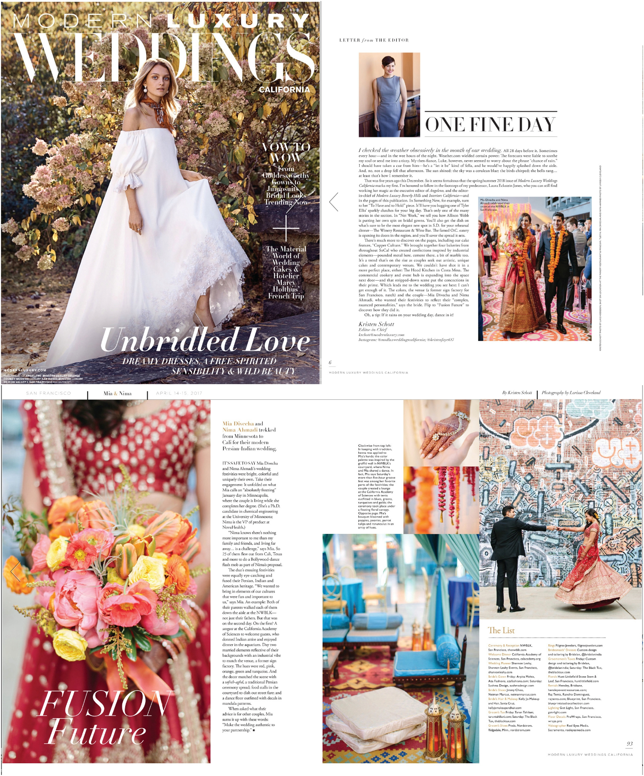 MODERN LUXURY WEDDING MAGAZINE