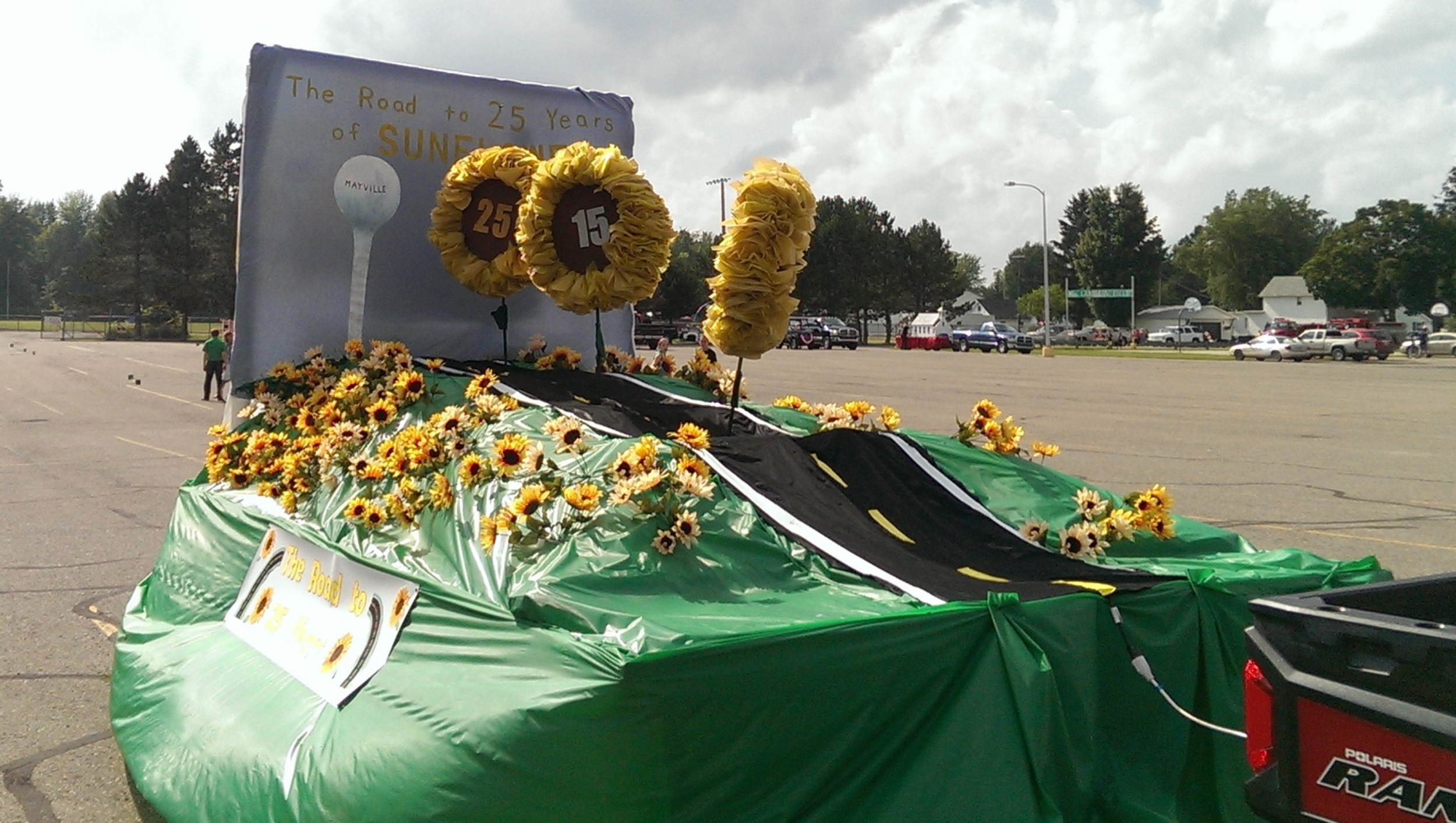 Our float!