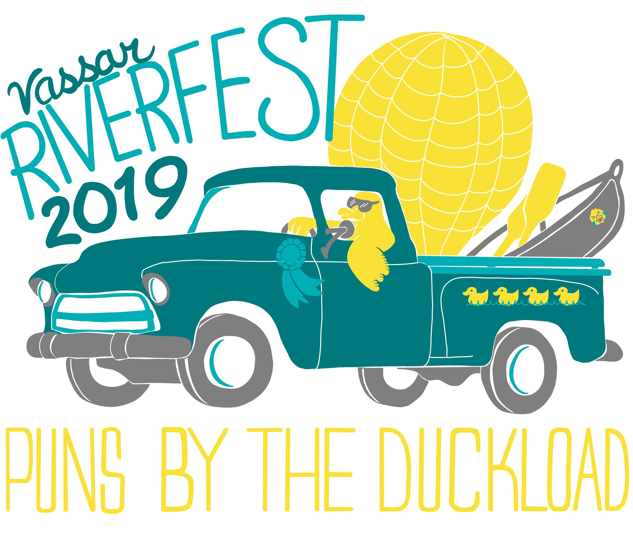 Riverfest 2019 logo