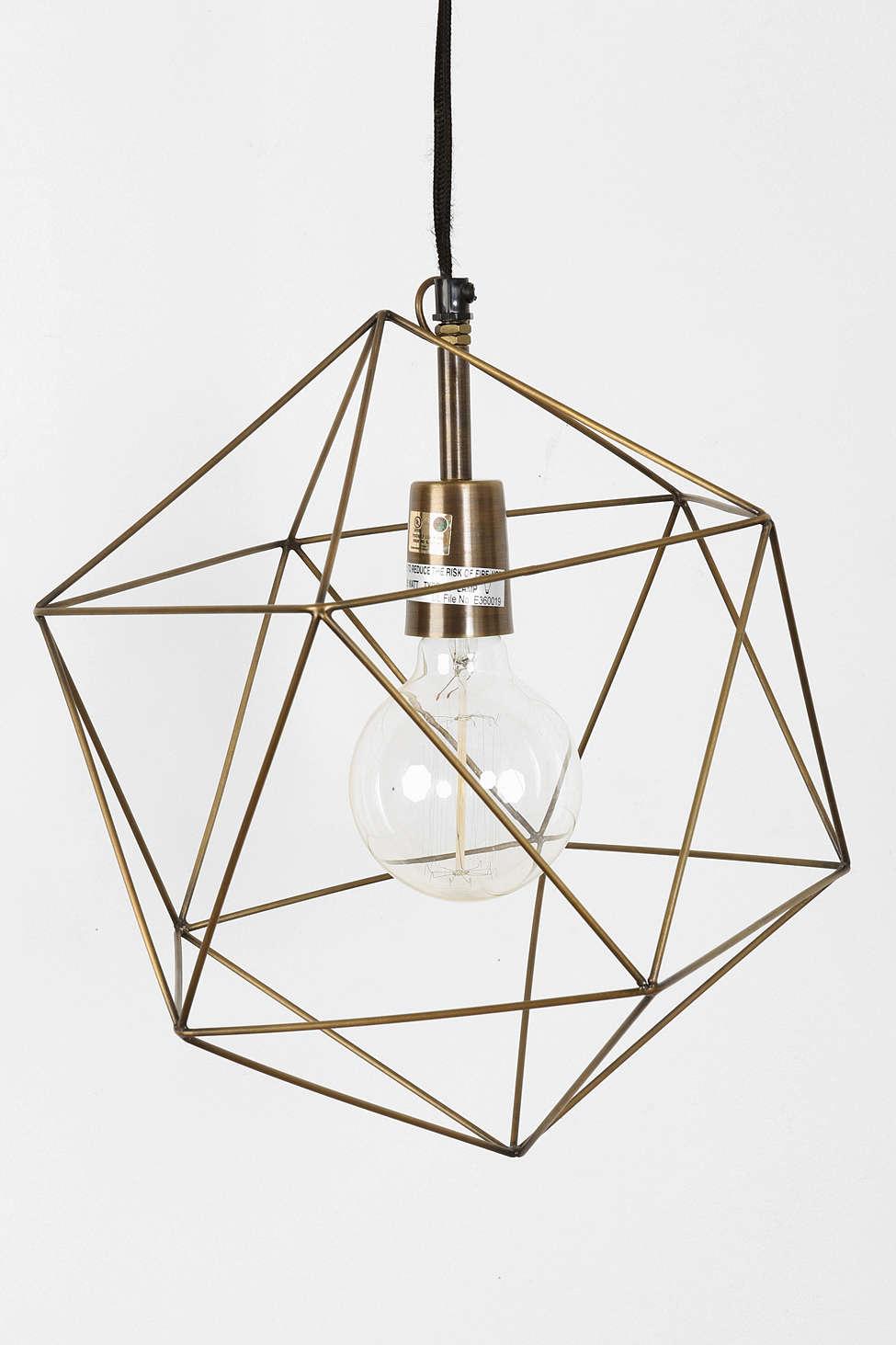 Things I love: Geometric Lights // 5 O'Clock Design Co.