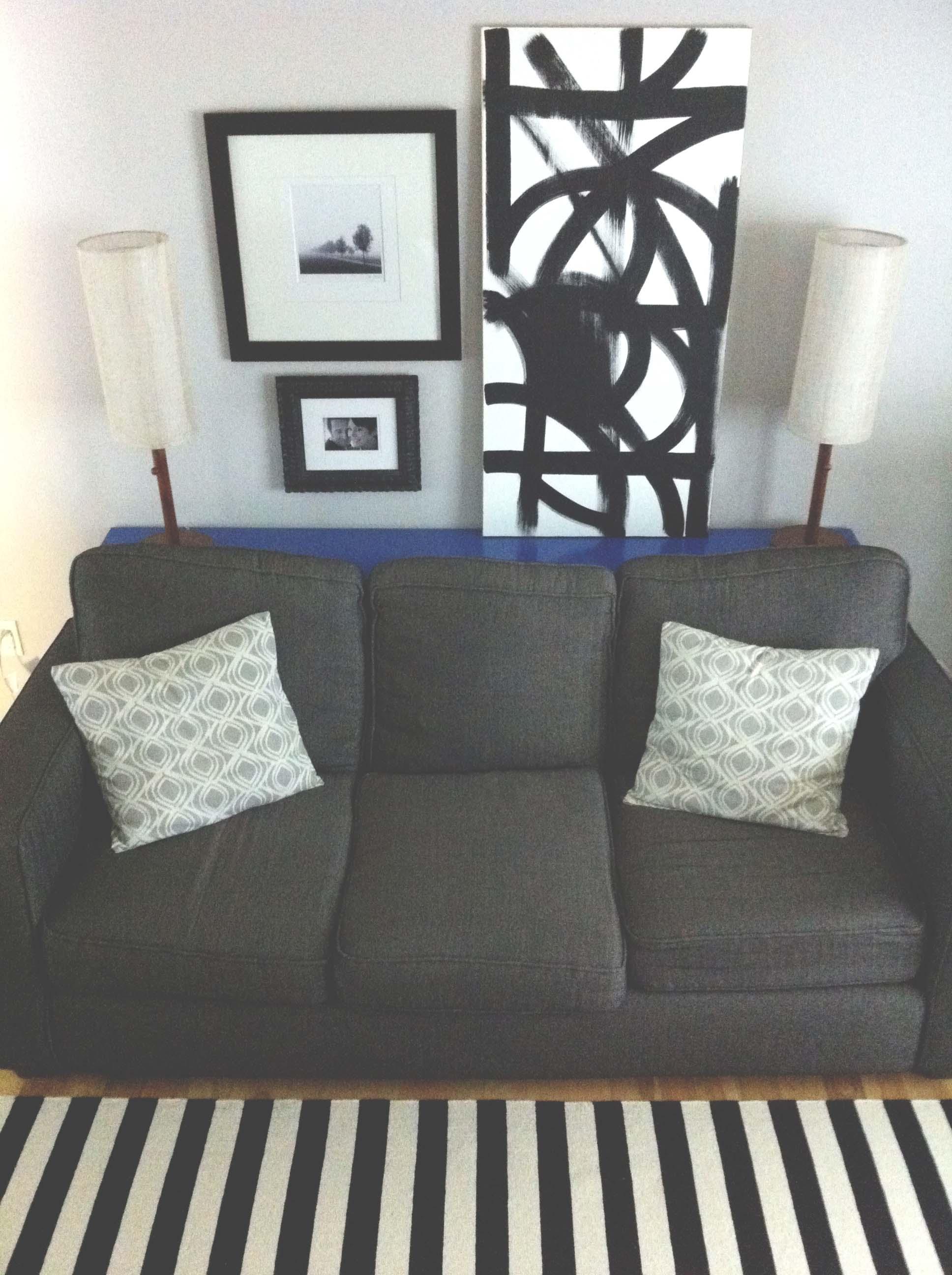 DIY Sofa Table // 5 O'Clock Design Co.