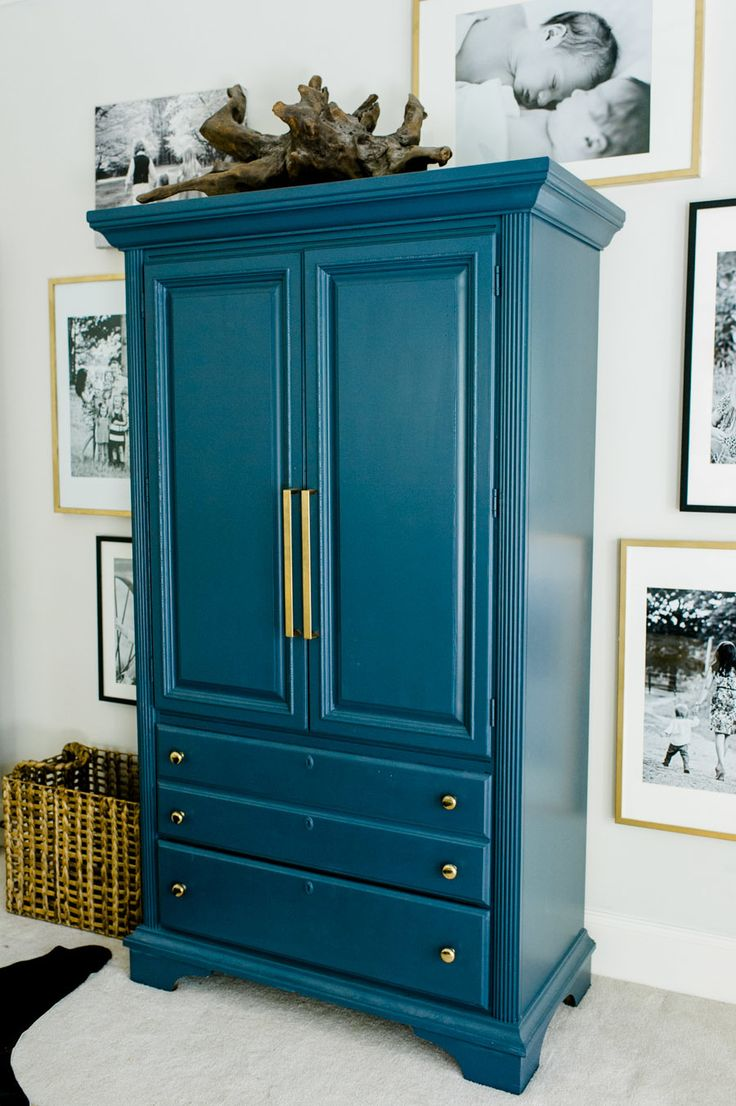 Jewel Tone Armoire // Furniture