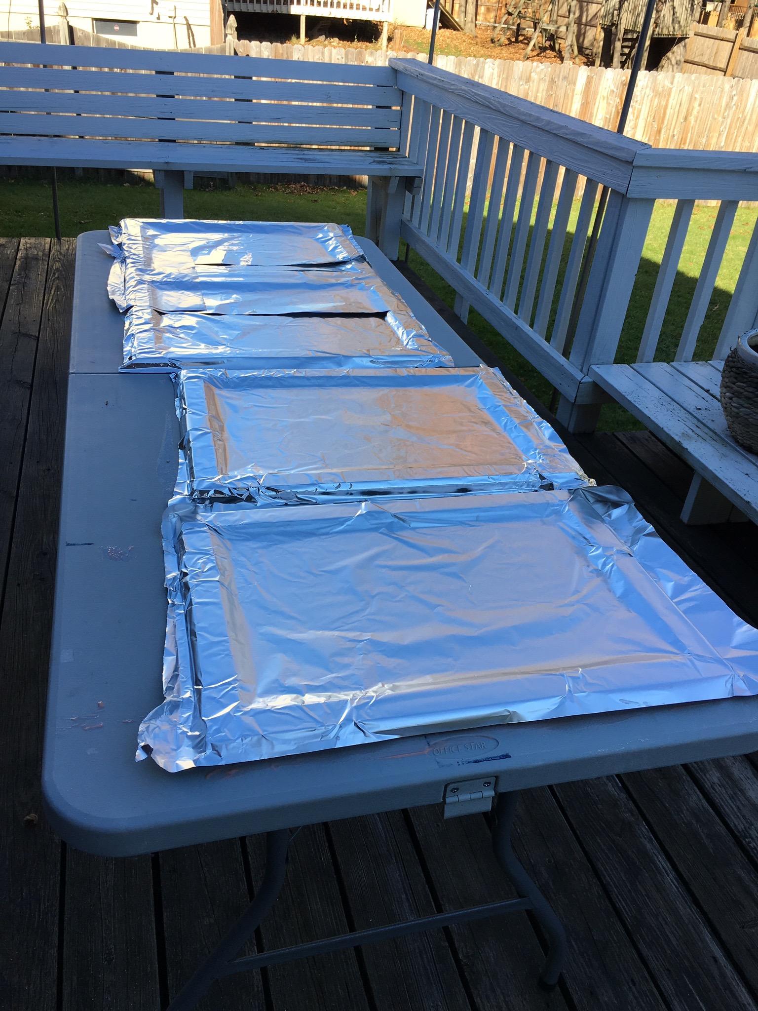 Stripping Kitchen Cupboards