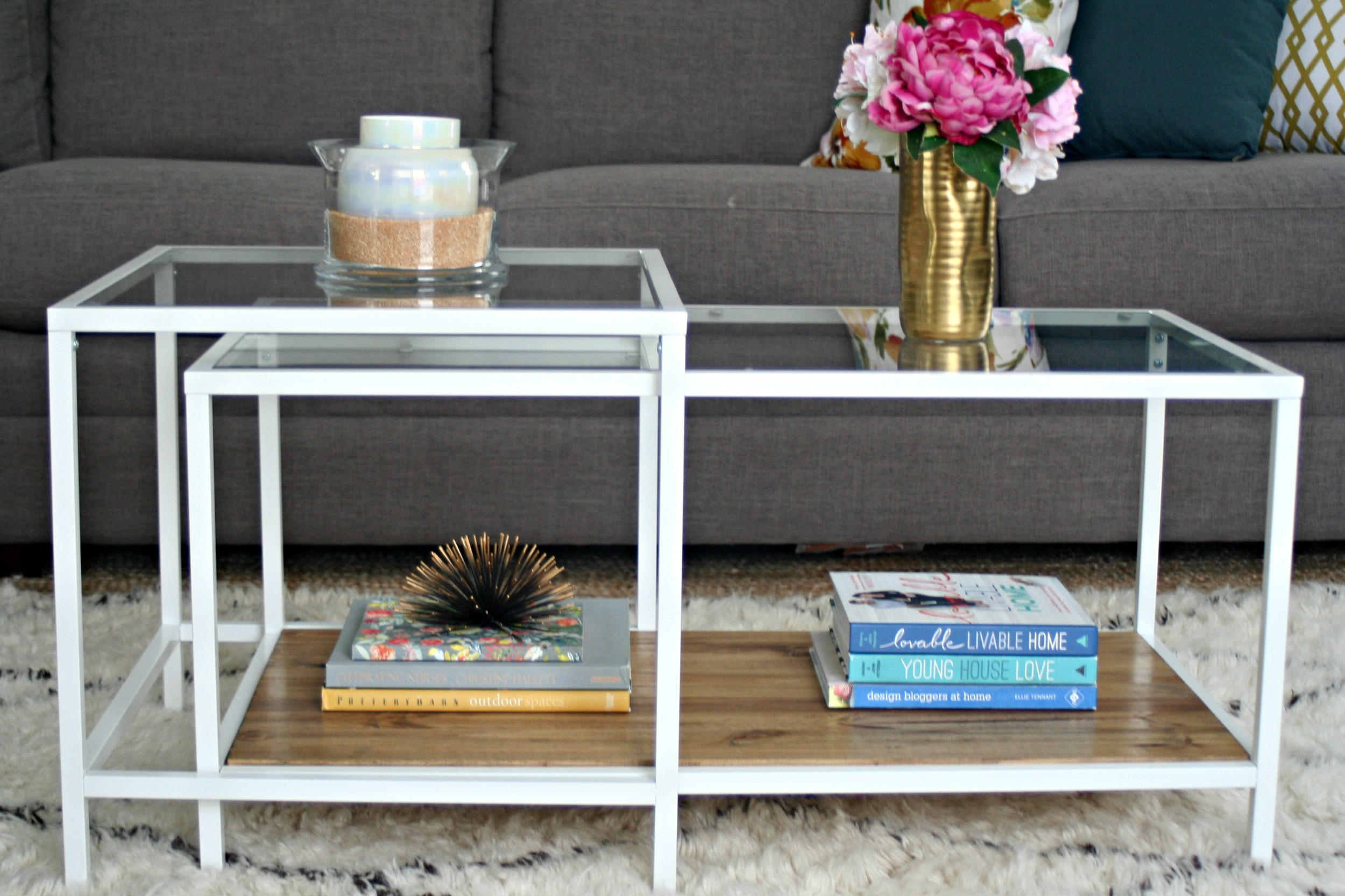 Ikea Coffee Table // Restyle It Wright // Blogger Interview