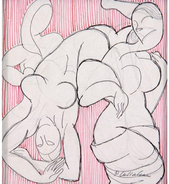 Abstract Figure Art
