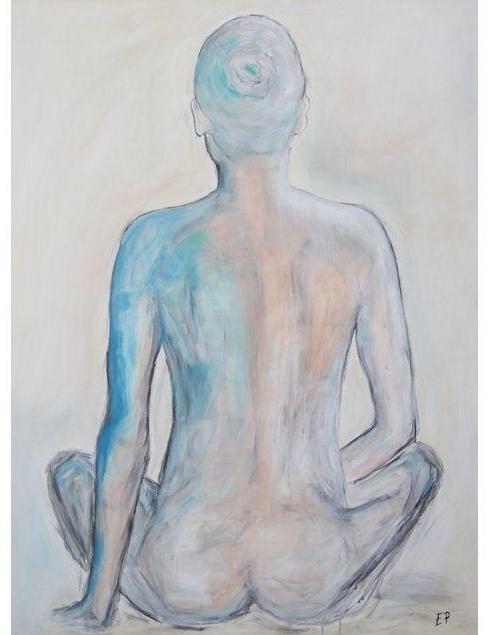 Turquoise Figure