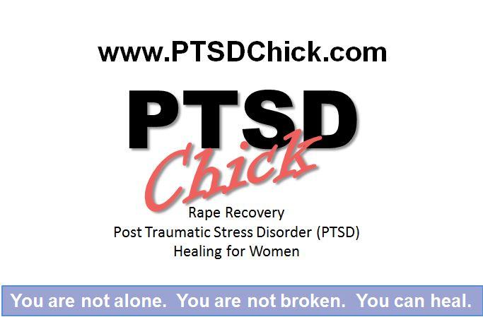 Business Card.  Women's Empowerment Mentor for Rape, Sexual Assault, and Post Traumatic Stress Disorder (PTSD) www.ptsdchick.com