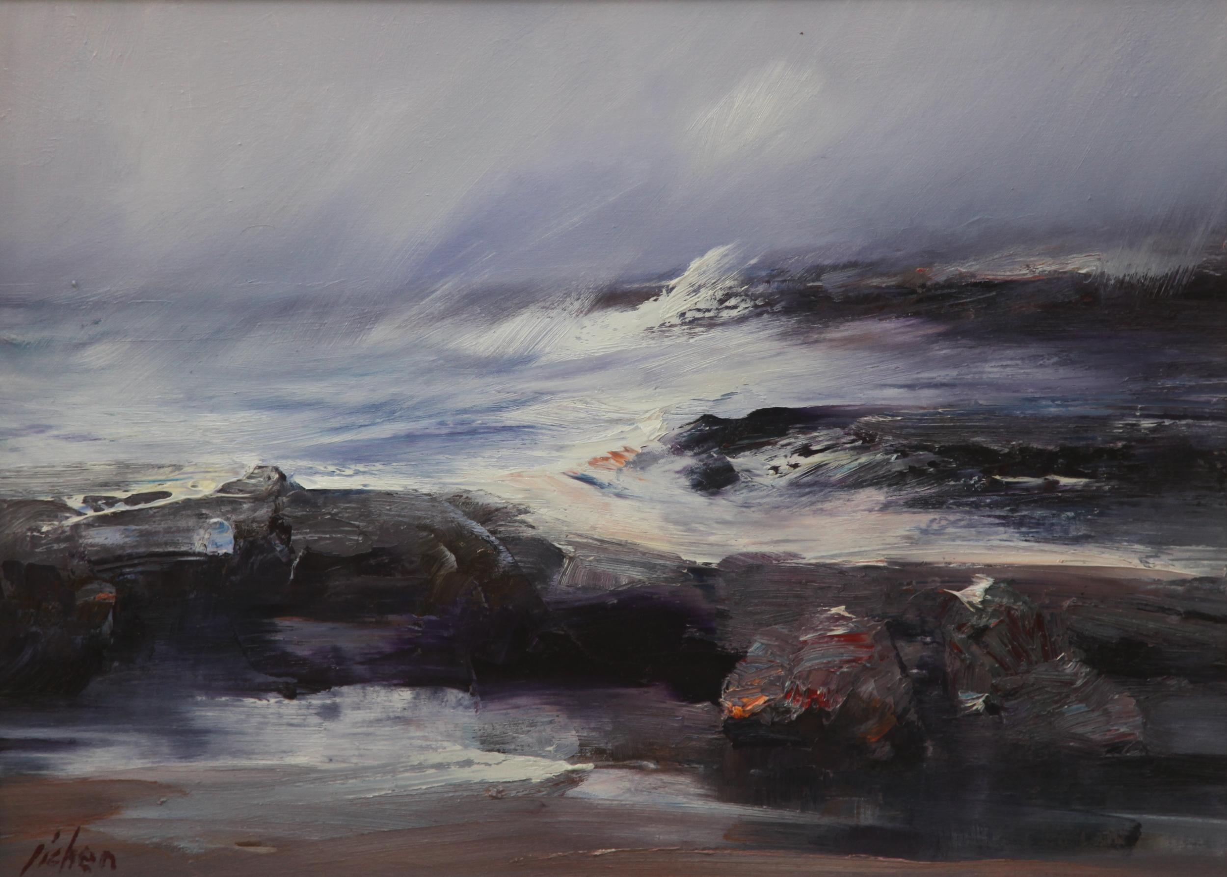 Beach Storm (76x56).JPG