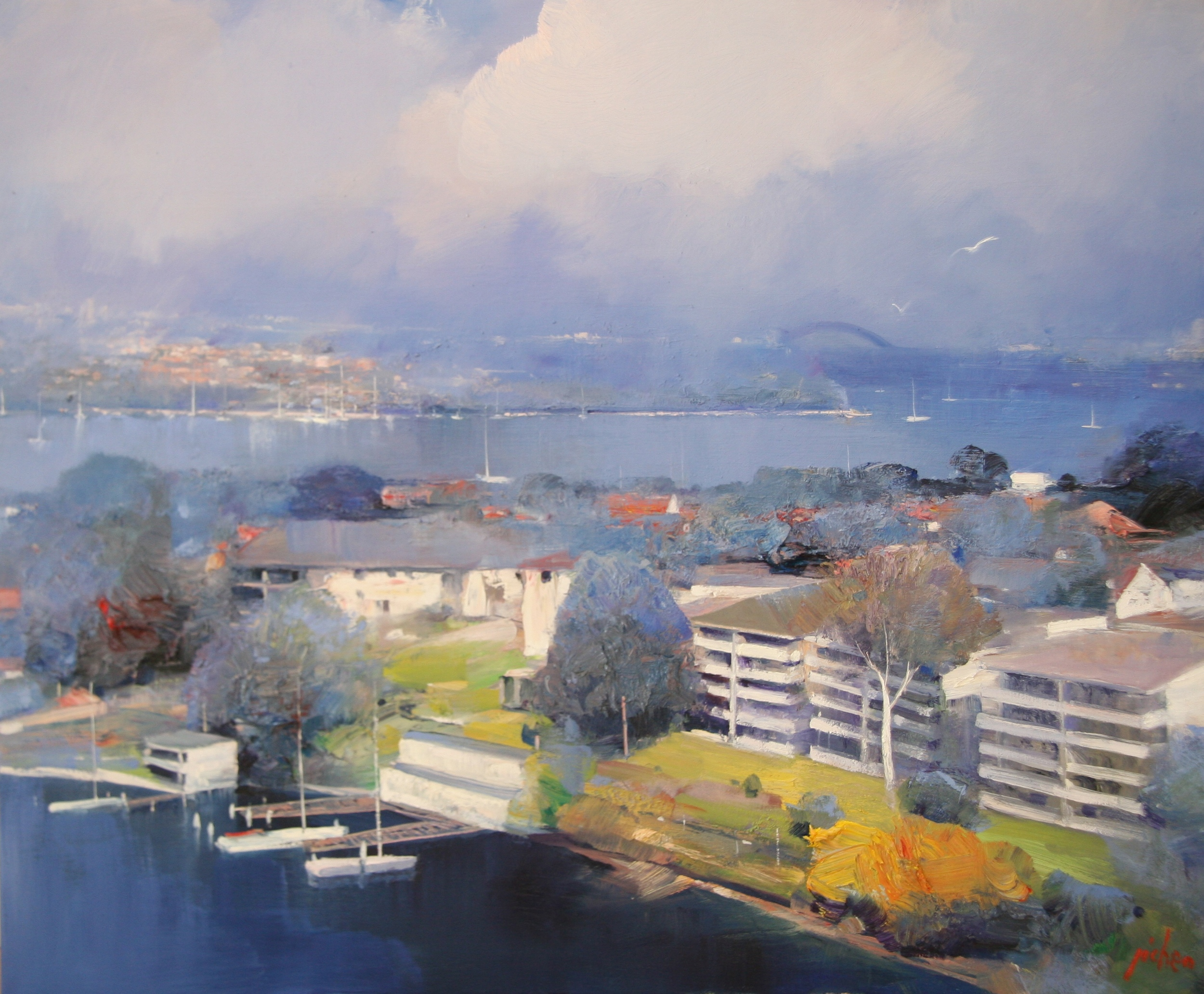 Sydney Harbour (100x120).JPG