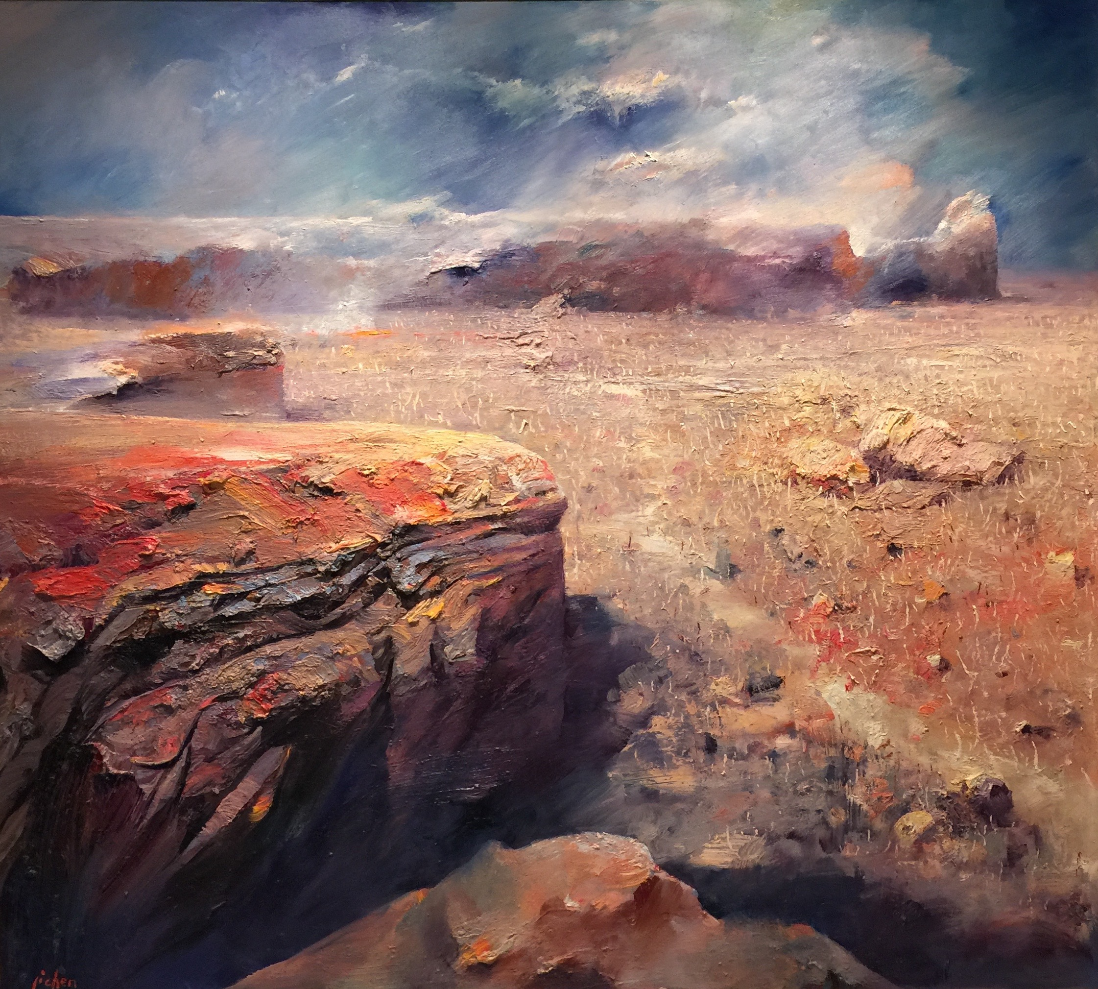 """Little Desert"" 160 x 180cm (West Australia)"