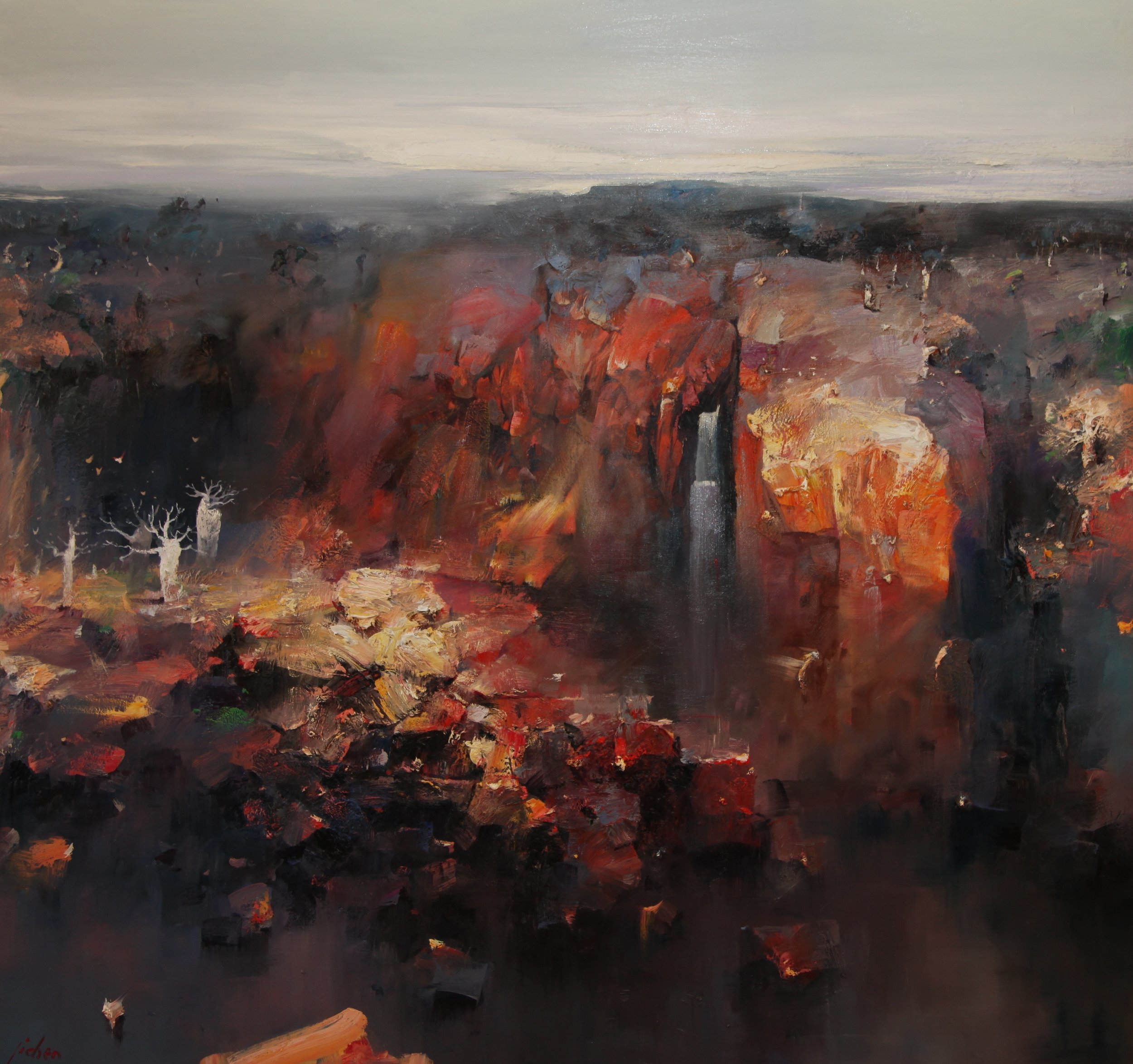 """Memories of Northern Australia"" 196 x 180cm (Northern Australia)"