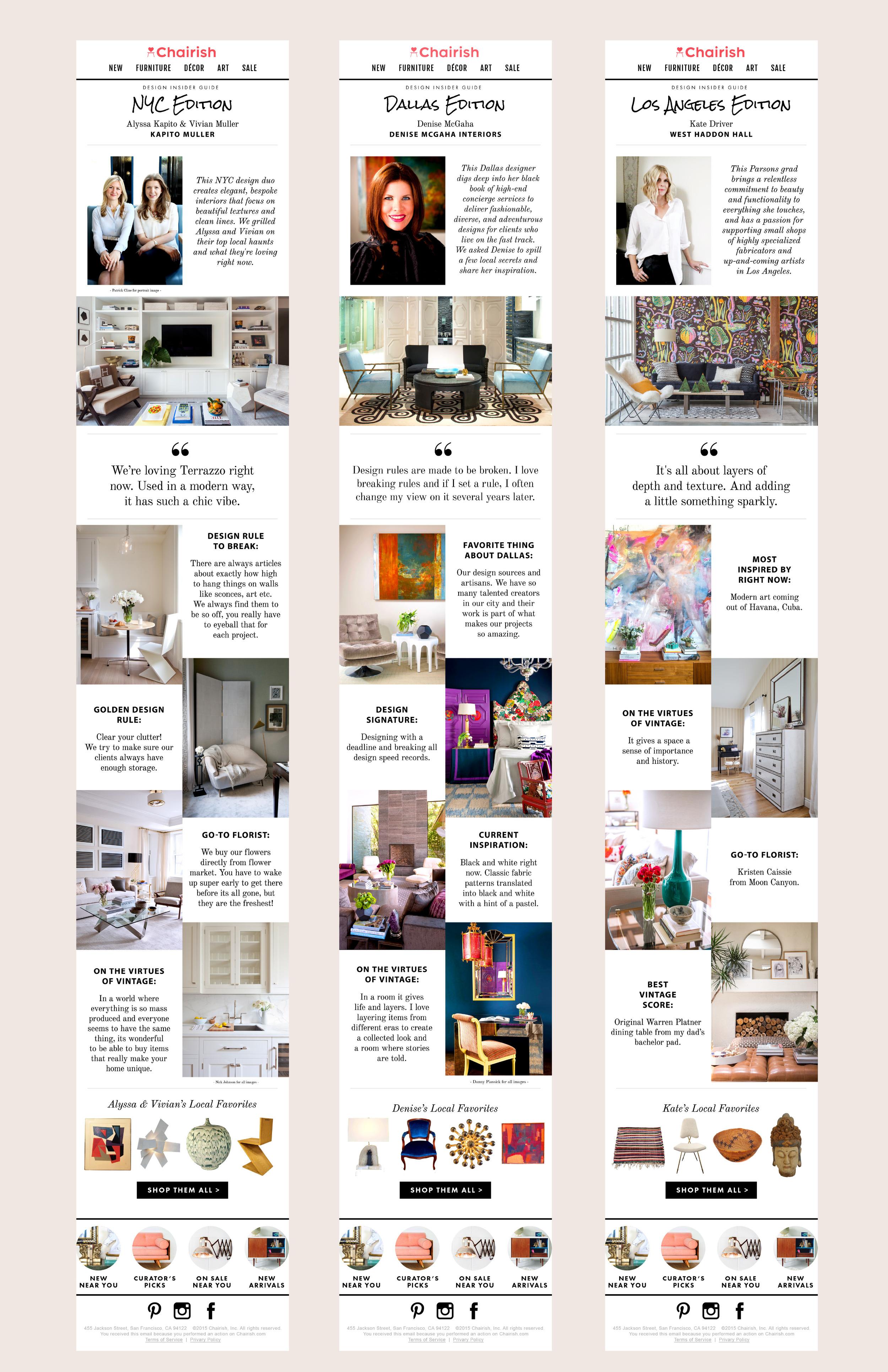 Chairish | Sallie Harrison Design Studio