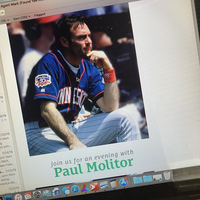 Excited for an evening with @mntwins_central Paul Molitor and @itsme_taylorv put on by @countryfinancial #3000hitclub