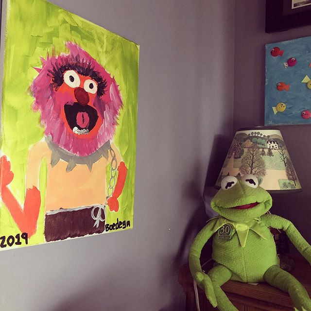 Animal and Kermit back together thanks to @im_boedee