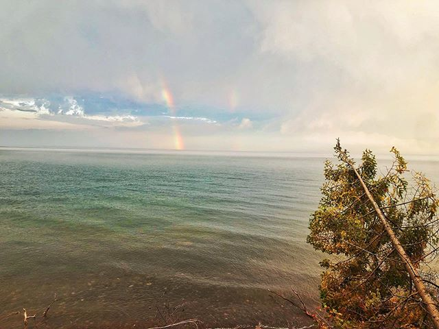 Duluth is always pretty #rainbows #realestate #househunting #realtor #forsale #newhome #homesale #bestagentever #property #properties #investment #home #housing #listing #motrgage #homeinspection #markwingert