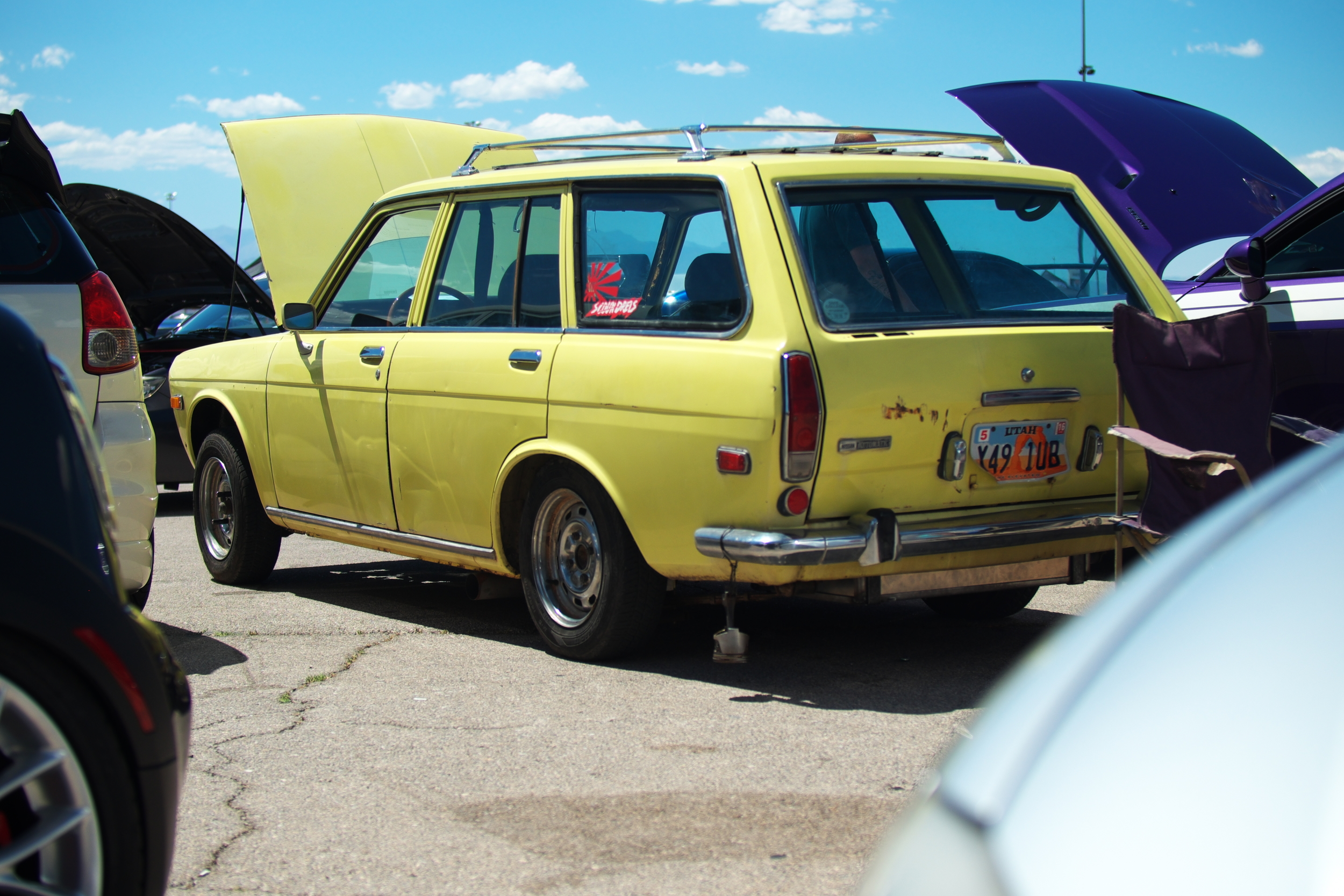 Old Datsun with a Nissan V6