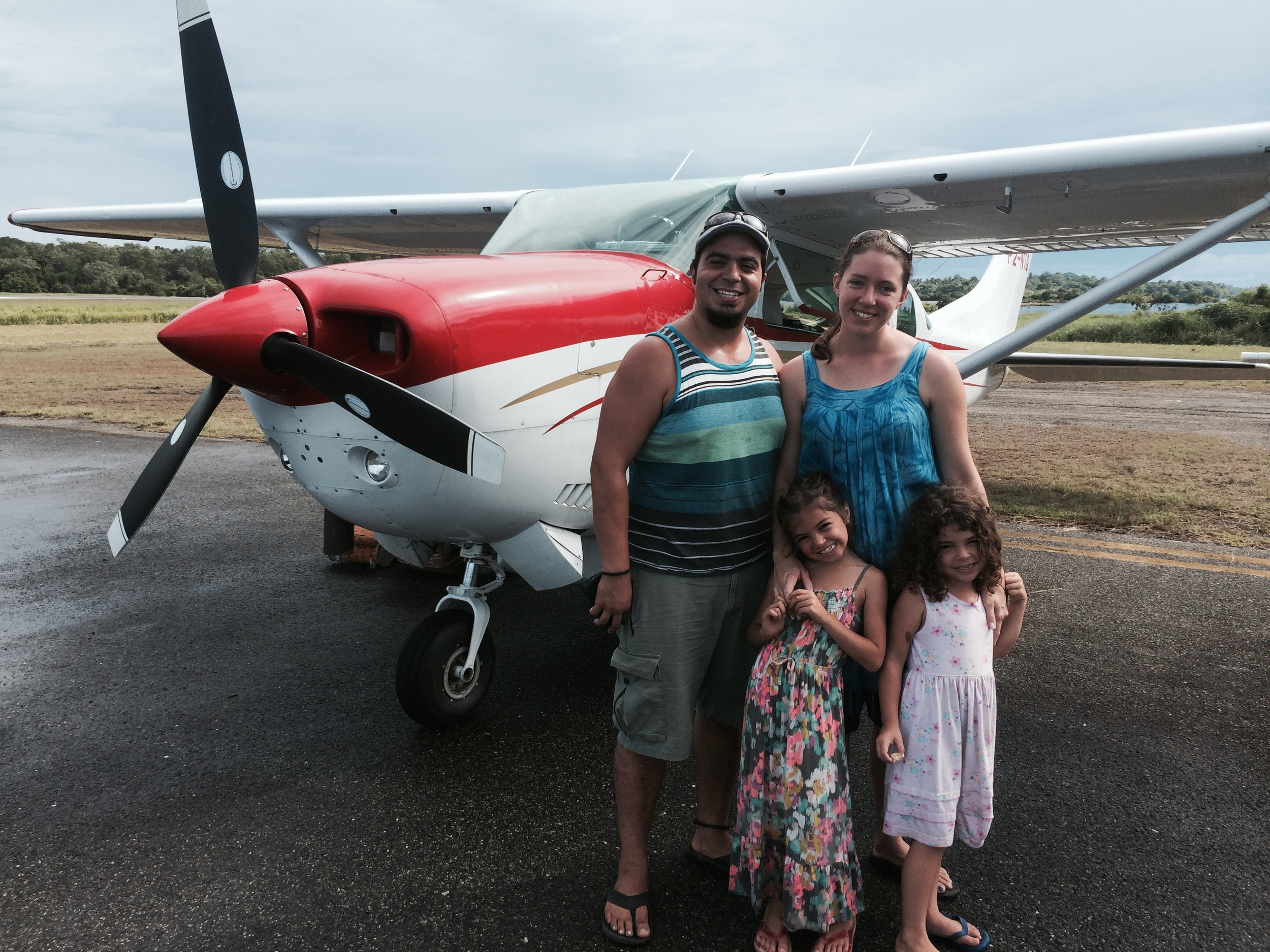 Our first Cessna flight as a family! So thankful for NTMA! **Know anyone who loves to fly? We are in need of more pilots!