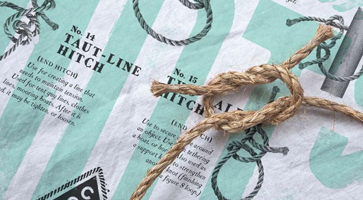 square knot bandana