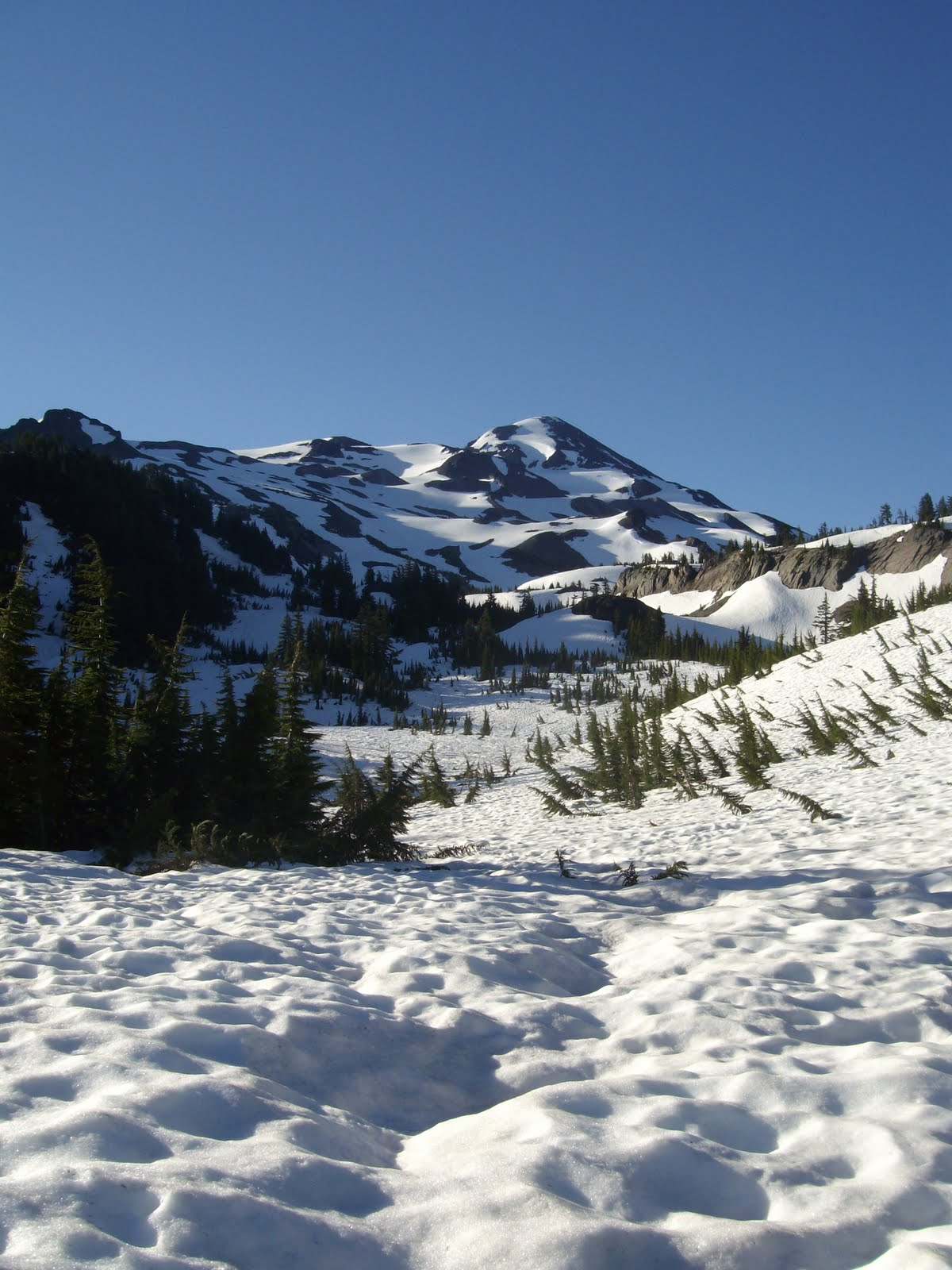 three sisters backpacking
