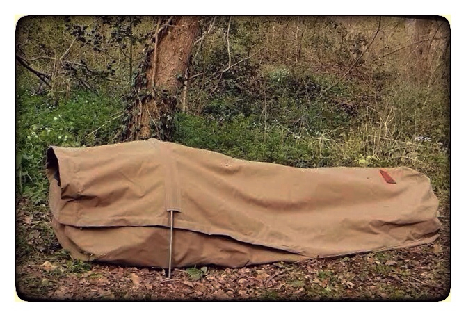 """Adventurer"" Canvas Bedroll, made by Wynnchester in England. Yes, please."