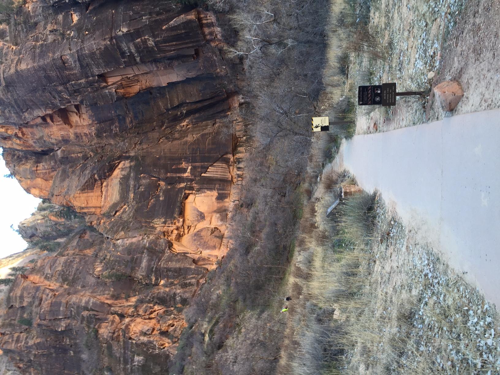 Zion National Park east rim trailhead