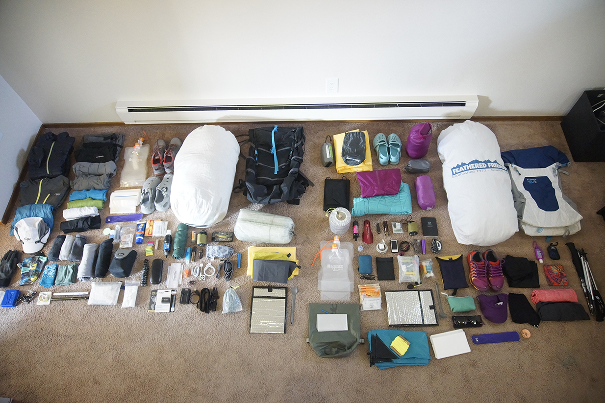 PCT_through_hike_pack_list