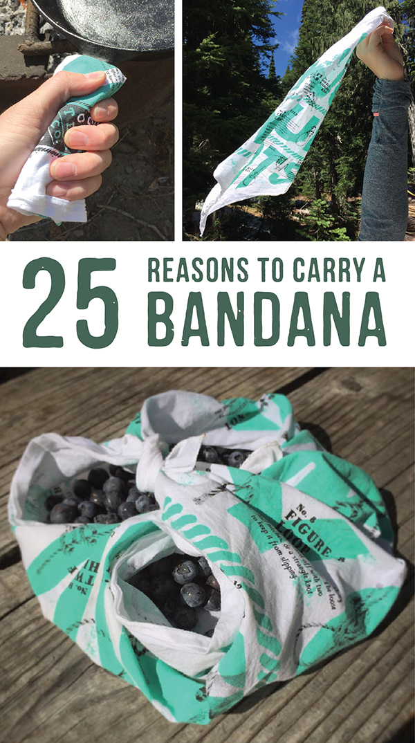 25 bandana uses-survival bandana