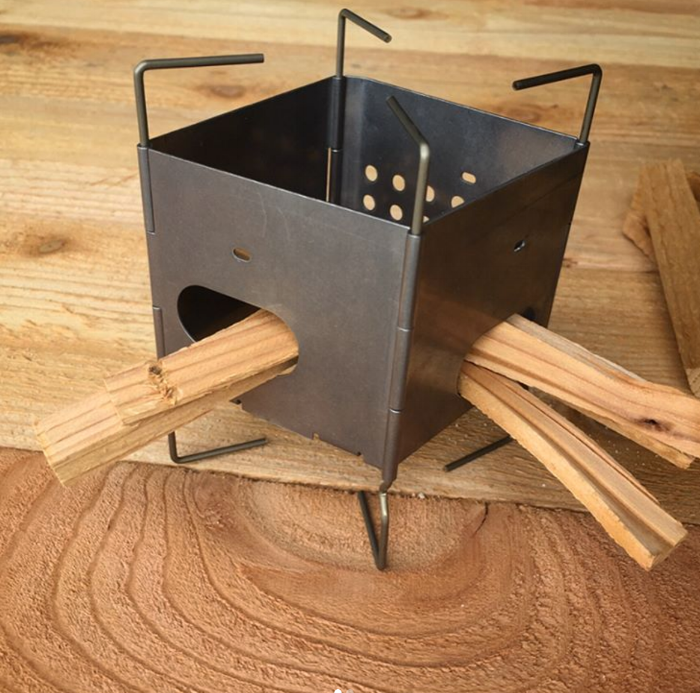 colter co wood burning camp stove