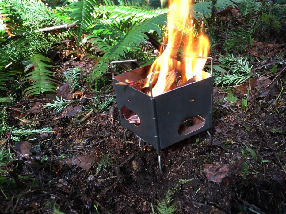 colter co wood burning camp stove backpacking