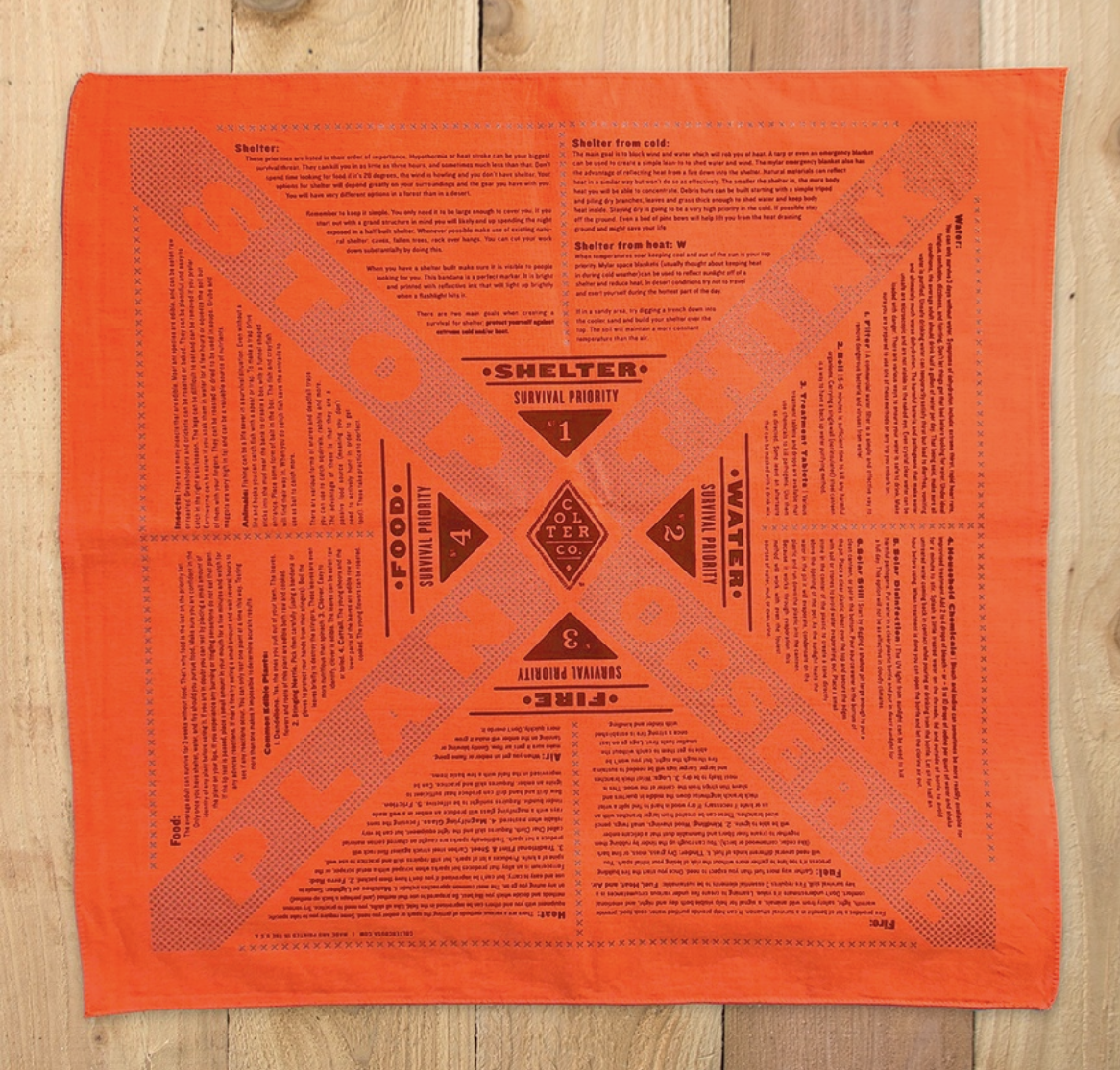 Colter Co. Survival bandana