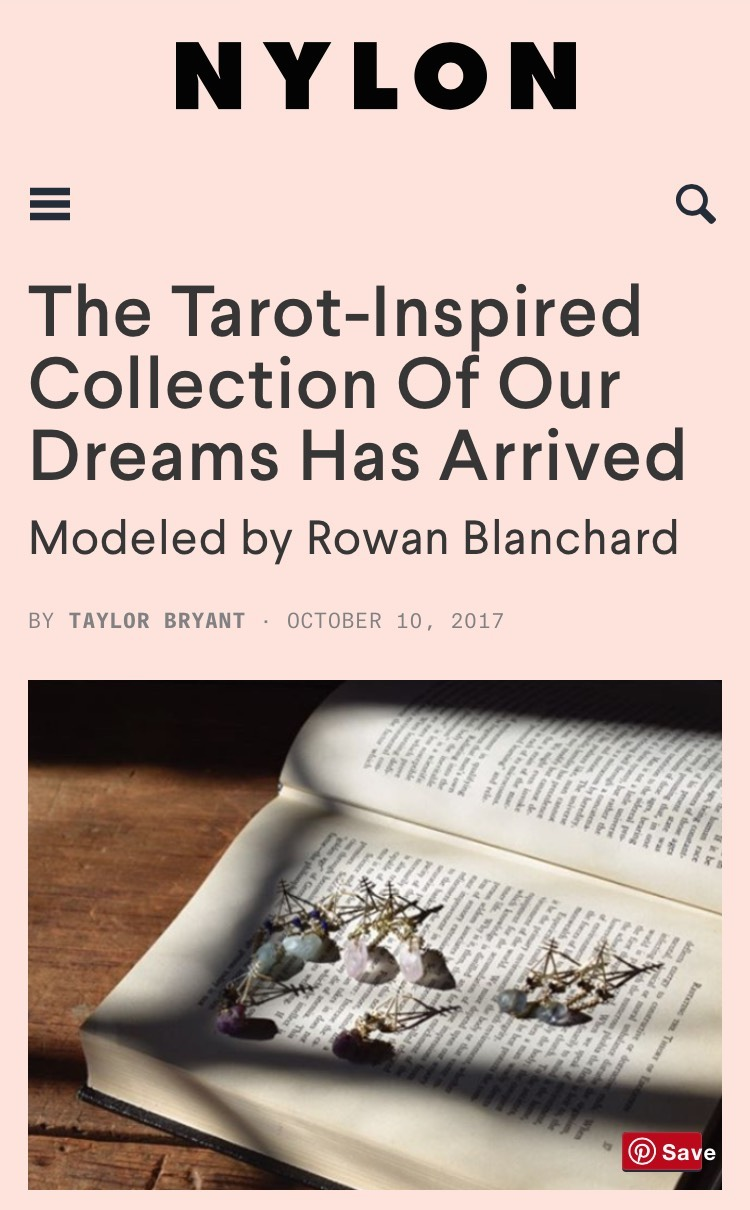 The Tarot-Inspired Collection of Our Dreams Has Arrived